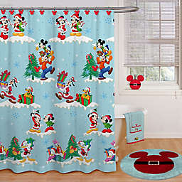 Disneyreg Holiday Shower Curtain Collection