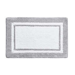 "Wamsutta 20"" x 30"" Hotel Border Rug in Grey"