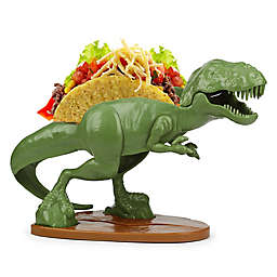 Barbuzzo Tacosaurus Rex™ Taco Holder in Green/Brown