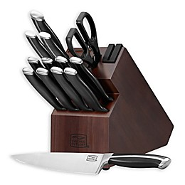 Chicago Cutlery® 14-Piece Knife Block Set in Black