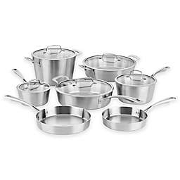 Cuisinart® Multi-Clad Conical Tri-Ply Stainless Steel 12-Piece Cookware Set