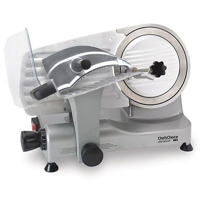 Alternate image 1 for Chef's Choice® Model 663 Professional Electric Food Slicer