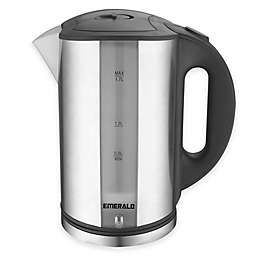 Emerald™ 1.7 Liter Stainless Steel LED Electric Kettle