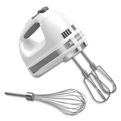 KitchenAid® 7-Speed Hand Mixer in White
