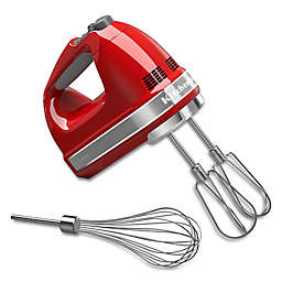 KitchenAid® 7-Speed Hand Mixer in Empire Red