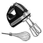 KitchenAid® 7-Speed Hand Mixer in Onyx Black