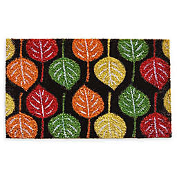 "Calloway Mills Broad Leaf Beauty 17"" x 29"" Coir Door Mat"