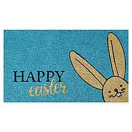 """Calloway Mills Happy Easter 17"""" x 29"""" Coir Door Mat"""