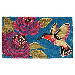 """Calloway Mills Hummingbird Delight 24"""" x 36"""" Coir Door Mat"""