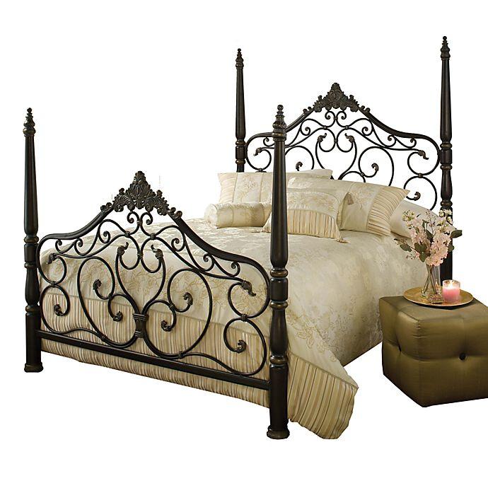 b0cec7e4f63a Hillsdale Parkwood Bed Set with Rails