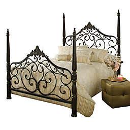 Hillsdale Parkwood Bed Set with Rails