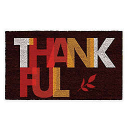 "Calloway Mills Thankful 17"" x 29"" Coir Door Mat"