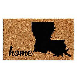 "Calloway Mills Louisiana Home 18"" x 30"" Coir Door Mat in Natural/Black"
