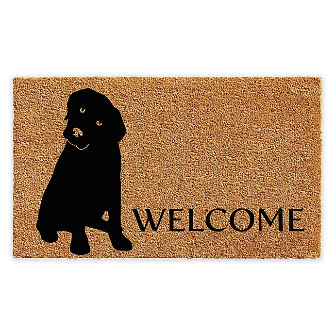 Alternate image 1 for Calloway Mills Labrador Welcome 17\