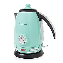Nostalgia™ Electrics 1.7-Liter Electric Kettle in Aqua