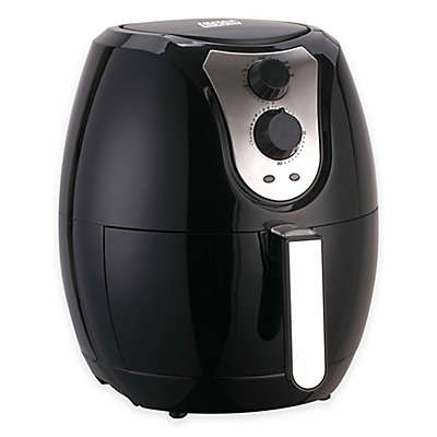 Emerald 1801 3.2 Liter Air Fryer in Black