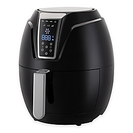 Emerald 1802 3.2-Liter Air Fryer in Black