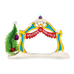 Grinch Christmas Village Grinch Archway Figurine