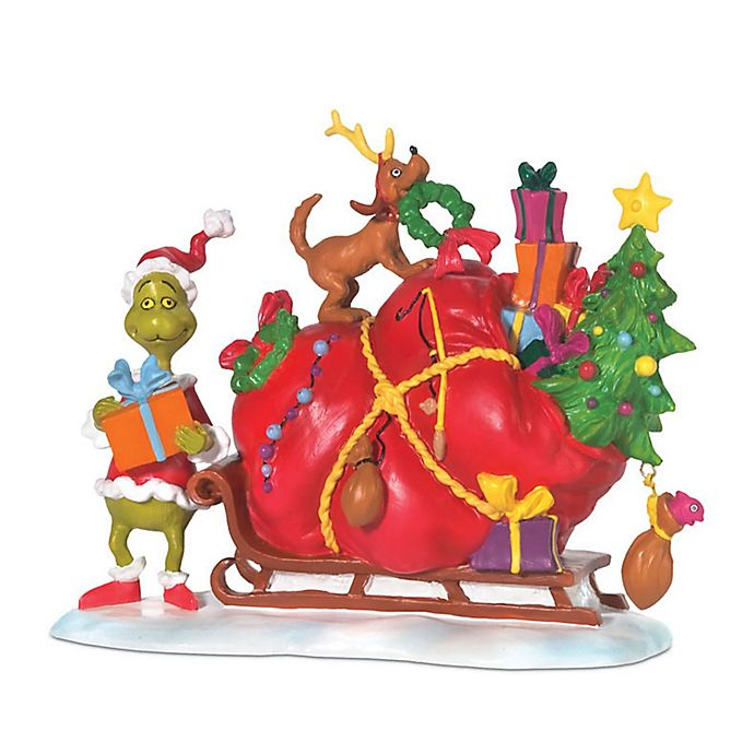 Alternate image 1 for Grinch Christmas Village Figurine Collection