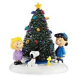 Department 56® Peanuts© Village 4.5-Inch O'Christmas Tree Figure