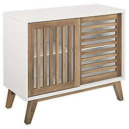 Forest Gate Sliding Slat Door Console