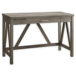 Forest Gate™ 46-Inch A-Frame Desk in Grey Wash