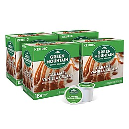 Keurig® K-Cup® Pack 72-Count Green Mountain Coffee® Caramel Vanilla Cream Coffee