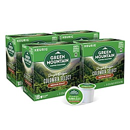 Keurig® K-Cup® Pack 72-Count Green Mountain Coffee® Colombia Fair Trade Coffee