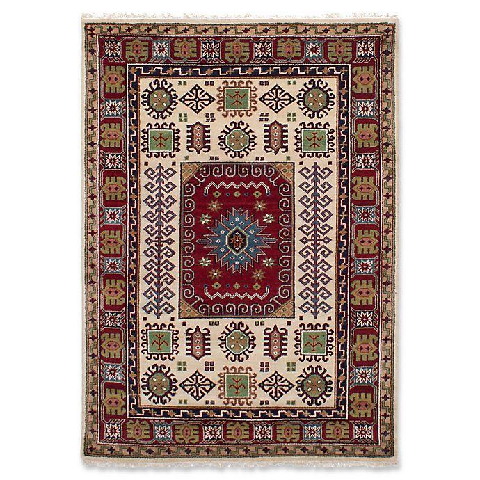 Alternate image 1 for ECARPETGALLERY Finest Kazak Hand-Knotted Area Rug