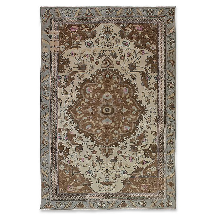 Alternate image 1 for ECARPETGALLERY Melis Vintage Hand-Knotted Area Rug