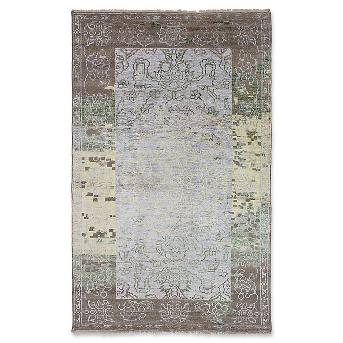 Alternate image 1 for ECARPETGALLERY La Seda Hand-Knotted Area Rug