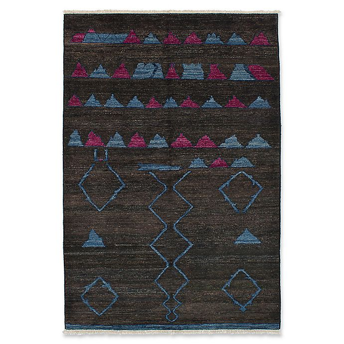 Alternate image 1 for ECARPETGALLERY One of a Kind Shalimar 5'9 x 8'10 Hand-Knotted Area Rug in Pink/Blue