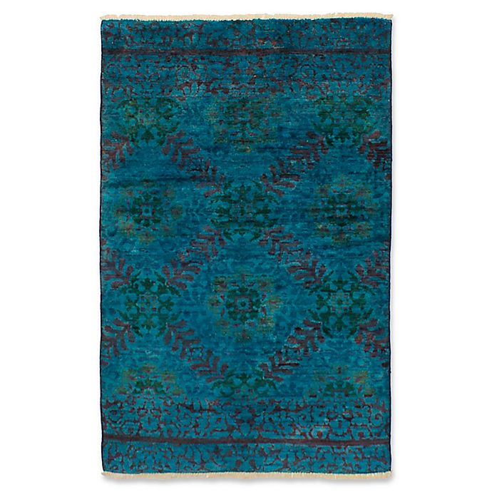 Alternate image 1 for ECARPETGALLERY One of a Kind Vibrance 3'10 x 6' Hand-Knotted Area Rug