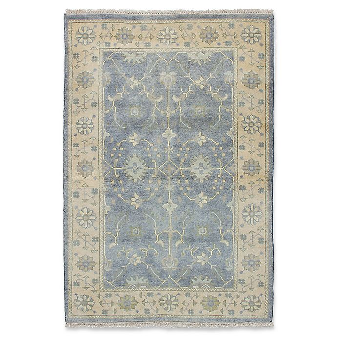 Alternate image 1 for ECARPETGALLERY One of a Kind Royal Ushak 4' x 5'11 Hand-Knotted Area Rug
