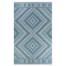 Couristan® Harper Mali Accent Rug in Blue/Grey