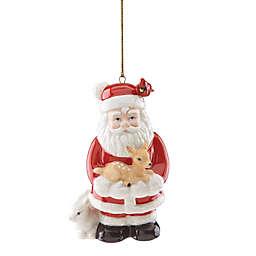 Lenox® Woodland Santa Christmas Ornament