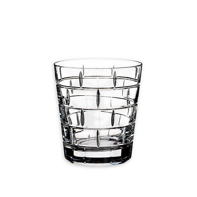 Alternate image 1 for Rogaska Quoin Double Old Fashioned Glasses (Set of 2)