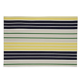 kate spade new york Crown Street Placemat in Navy/Yellow