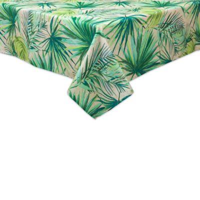 Destination summer linens palm garden indoor outdoor table - Bed bath and beyond palm beach gardens ...