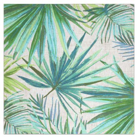 Destination summer palm garden square indoor outdoor - Bed bath and beyond palm beach gardens ...