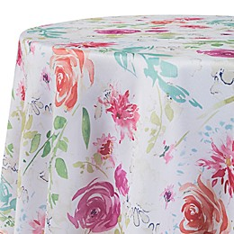 Spring Medley Floral Round Tablecloth