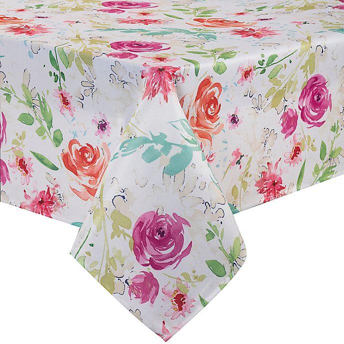 Alternate image 1 for Spring Medley Floral Table Linen Collection