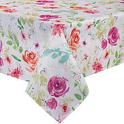 Spring Splendor Floral Tablecloth