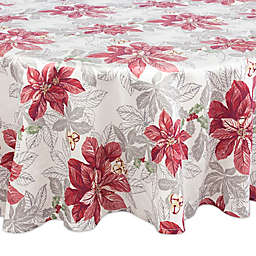 Tommy Bahama® Tropical Poinsettia 70-Inch Round Tablecloth in Ivy