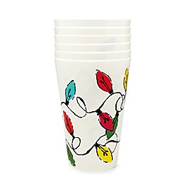 kate spade new york Holiday Lights Party Cups (Set of 6)