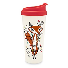 kate spade new york Festive Fox 16 oz. Thermal Travel Mug
