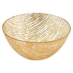 Badash Gold Lines 8.75-Inch Bowl