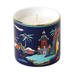 Wedgwood® Wonderlust Blue Pagoda Lotus and White Jasmine Scented Candle