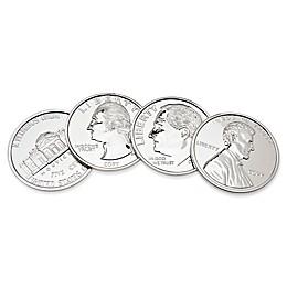Godinger U.S. Coins Coasters (Set of 4)