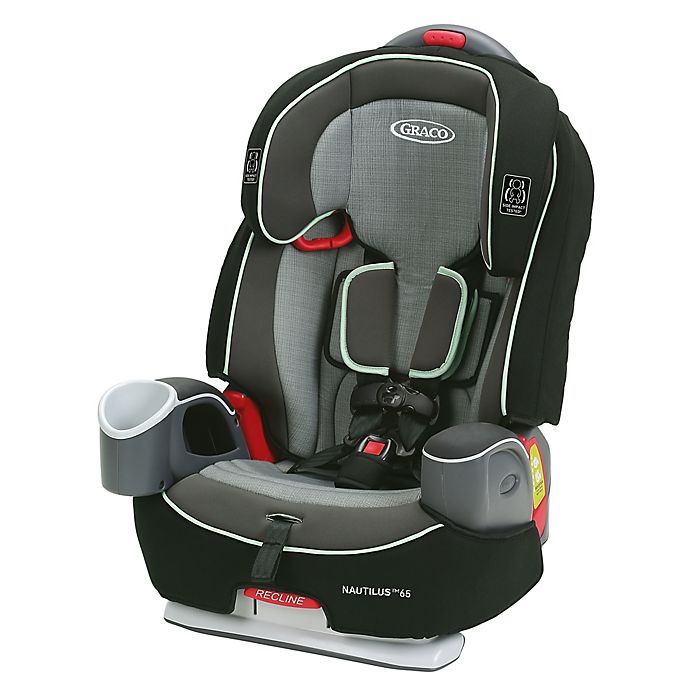 Alternate image 1 for Graco® Nautilus™ 65 3-in-1 Harness Booster Car Seat in Green